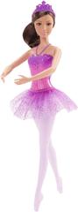 Mattel Barbie Balerína fialová