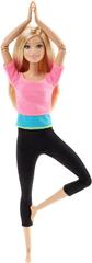 Mattel Barbie V pohybu fitness blond