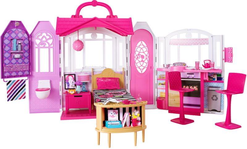 Barbie Dům se světly a zvuky