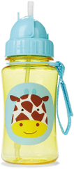 Skip hop Zoo Lahvička s brčkem-Žirafa