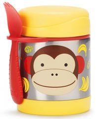 Skip hop Zoo Termoska na jídlo s vidličkou - Opička