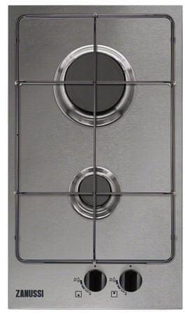Zanussi plinska kuhalna plošča ZGG35214XA
