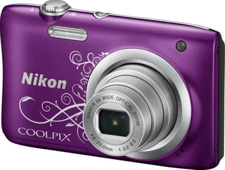 NIKON Coolpix A100 Lila Lineart
