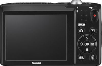 Nikon Coolpix A100 back