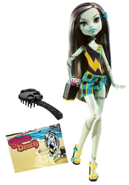Monster High Plážové příšerky Frankie Stein