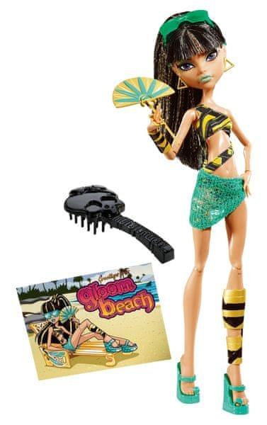 Monster High Plážové příšerky Cloe de Nile