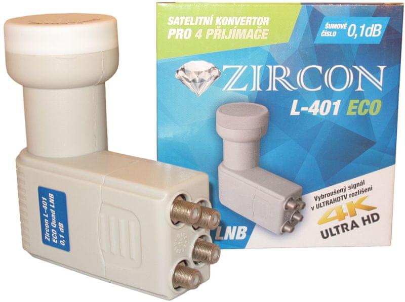 Zircon L401 QUAD ECO LNB