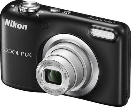 NIKON Coolpix A10 Digitális fényképező, Fekete
