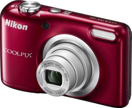 NIKON Coolpix A10 Digitális fényképező, Piros