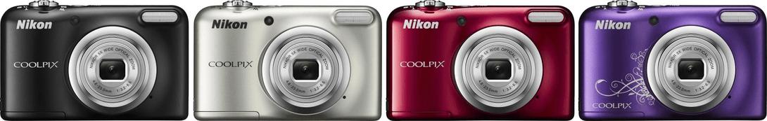 Nikon Coolpix A10 colours