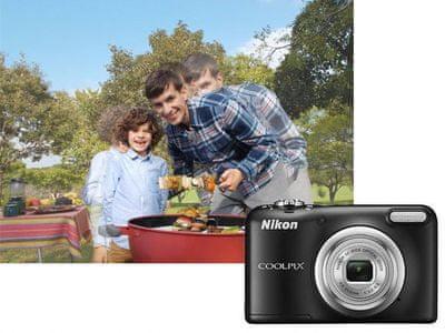 Nikon Coolpix A10 Motion Blur reduction