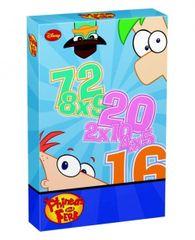 Disney Phineas és Ferb szorzókártya