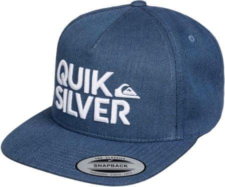 Quiksilver kapa s senčnikom Overunder M, Dark Denim