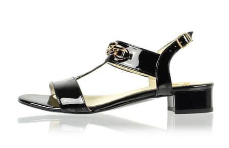 PAOLO GIANNI ženski sandali 36 črna