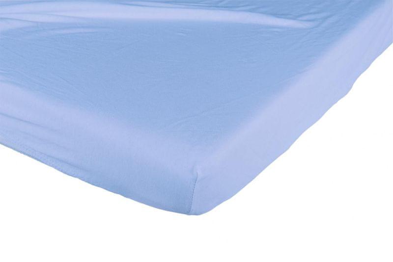 Candide Bavlněné prostěradlo 130g/m² 70x140 cm tmavě modré