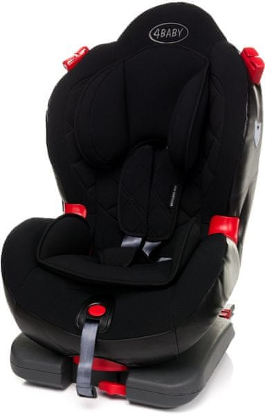 4Baby Weelmo-Fix Isofix 2016, Black