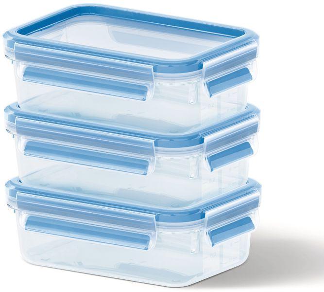 Emsa Sada dóz na potraviny 3x0,5 l CLIP&CLOSE