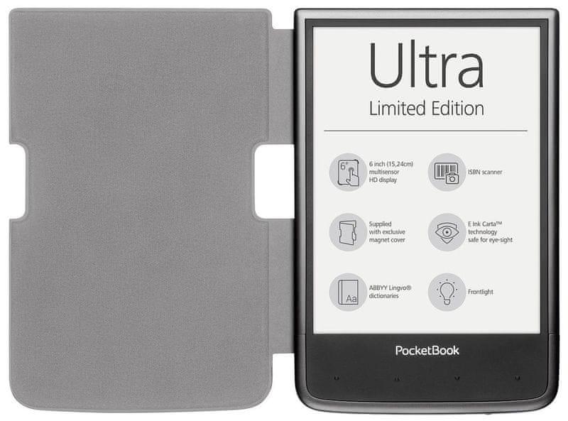 PocketBook 650 LIMITED EDITION, Mist Grey + Magnetický obal - II. jakost