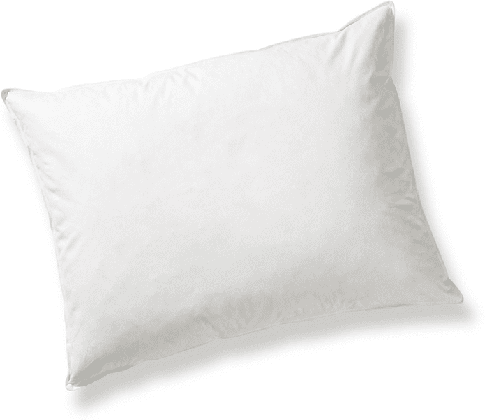 bed & fun´tastisch Pevný polštář z prachového peří, jednokomorový