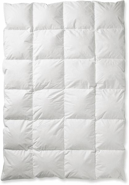 bed & fun´tastisch Classic kazetová přikrývka z peří 140x200 cm, 800 g