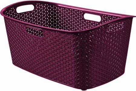 Curver košara za oblačila My Style 47 L, vinska