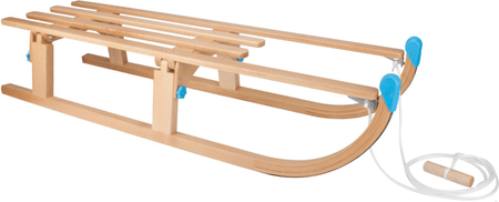 Nijdam lesene sani, 110 cm, zložljive