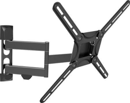 """Barkan stenski nosilec - dvojna roka za raven/ukrivljen TV do 165 cm (65"""")"""