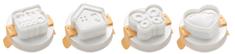 Tescoma Modelčki za oblikovanje jajc PRESTO, 4 kos