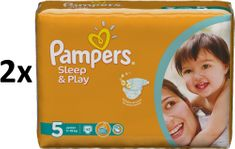 Pampers Pieluchy Sleep&Play Economy 5 Junior - 2 x 42 szt