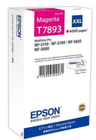 Epson kartuša C13T789340 XXL, magenta