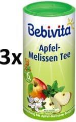 Bebivita Jablčno-medovkový čaj-instantný, 3 × 200g