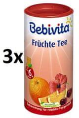 Bebivita Ovocný čaj-instantný, 3 × 200g
