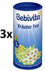 Bebivita Bylinkový čaj-instantný, 3 × 200g