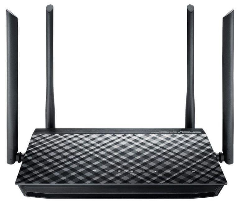 Asus RT-AC1200G Plus Wireless AC1200 Dualband Gigabit Router (90IG0241-BM3000)