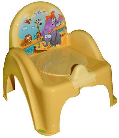 COSING Nočník - židlička, žlutá