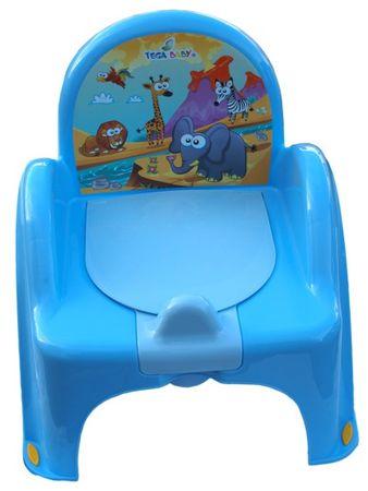 COSING Nočník - židlička, modrá
