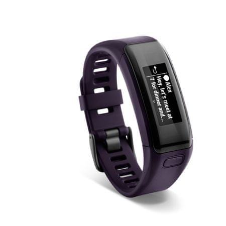 Garmin vívosmart HR, Purple