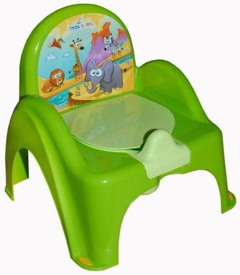COSING Nočník - židlička (hrací), zelená