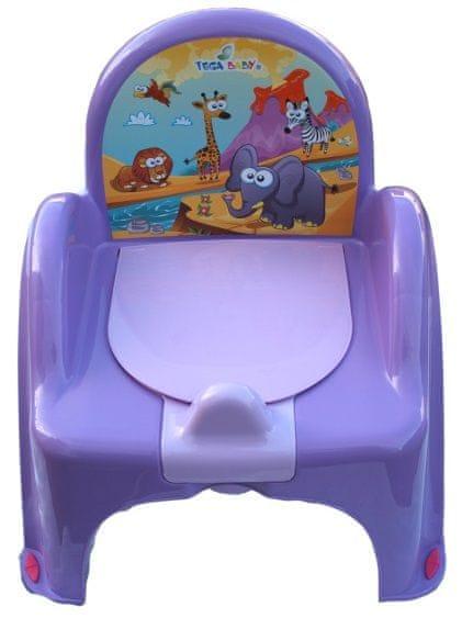 COSING Nočník - židlička (hrací), fialová