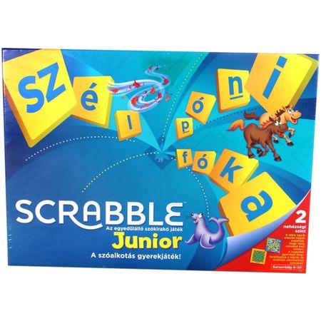 Mattel Junior Scrabble Társasjáték új kiadás - Magyar nyelvű