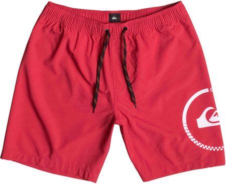 Quiksilver kratke hlače Sideways 17, moške, rdeče, L