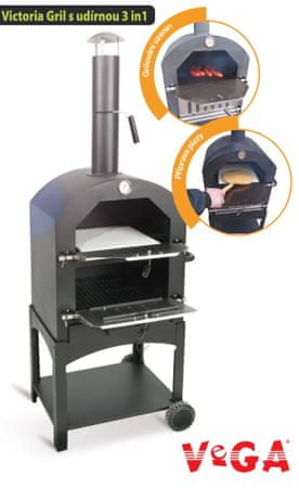 VEGA grill węglowy Victoria