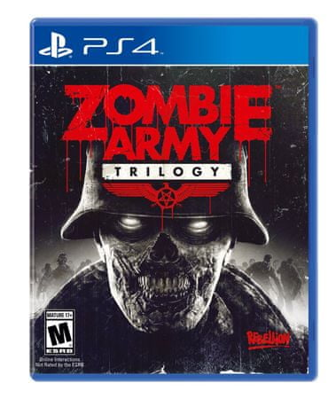 Rebellion Developmen Zombie Army Trilogy (PS4)