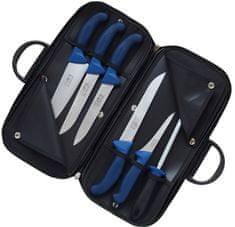 KDS Kabela s mäsiarskym nožmi PROFI LINE, modrá