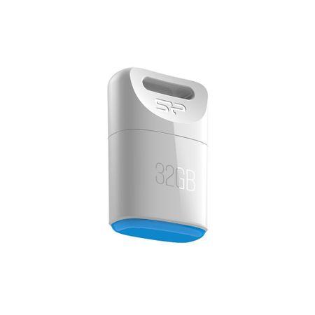 Silicon Power USB ključek T06 32 GB COB, bel