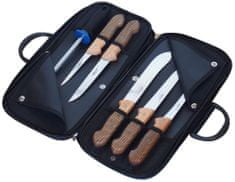 KDS torbica z mesarskimi noži Profi Line, bukev