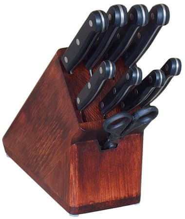 KDS Zestaw noży Trend 8 sztuk z blokiem