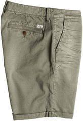 Quiksilver kratke hlače Krandy Chino, moške, olivne