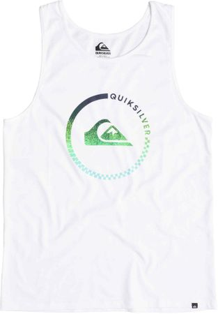 Quiksilver majica Everyday Active, moška, bela, S