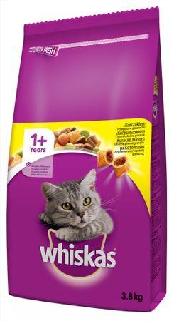 Whiskas sucha karma dla kota z kurczakiem - 4 kg